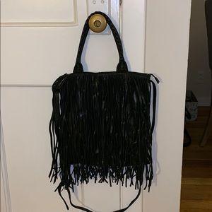 Lucky Brand bohemian tassel purse